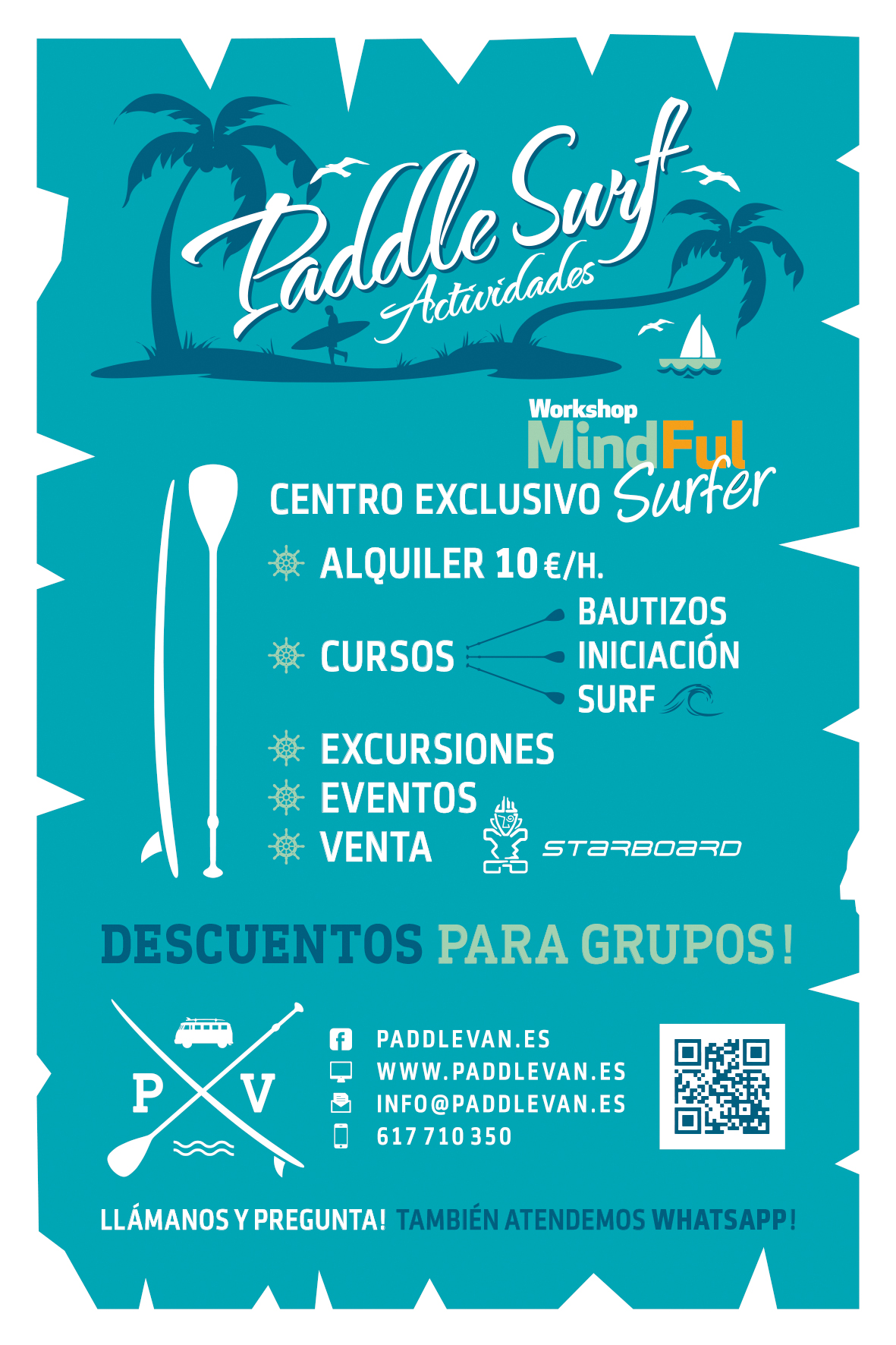 paddle surf les cases alcanar